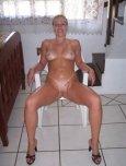 amateur photo Blonde amateur with tanlines