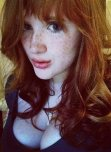 amateur photo Freckled beauty
