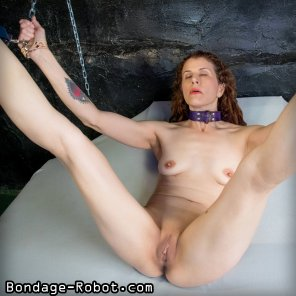 amateur photo Legs chained up