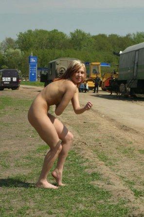 amateur photo Naked adventure