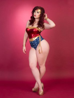 amateur photo Wonder Woman.