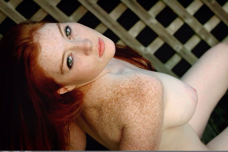 Freckles Porn Photo