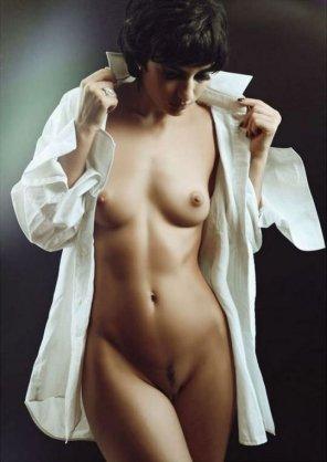 amateur photo Open shirt