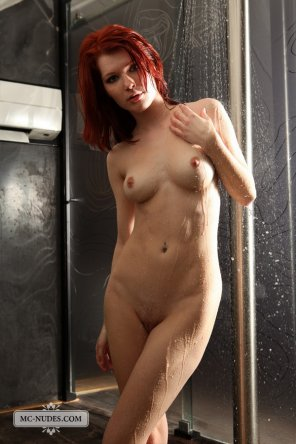 amateur photo lovely redhead
