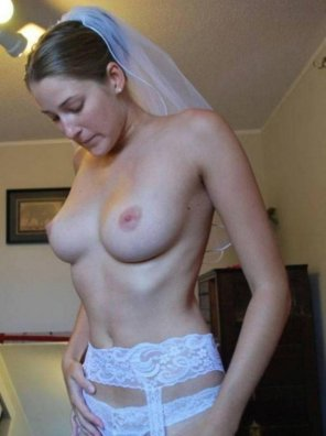 amateur photo Getting ready for her big day