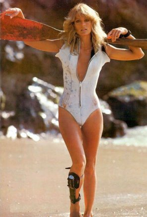 amateur photo Dat vintage iconic gap - Farrah Fawcett