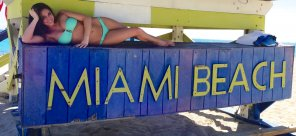 amateur photo Welcome to Miami