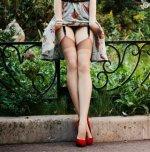amateur photo Under the dress
