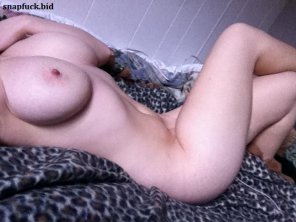 amateur photo her loneliness in bed
