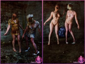 amateur photo [Silent Hill] Bubble Head and Nurse