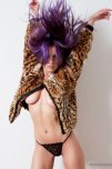 amateur photo Shay Maria In Fur