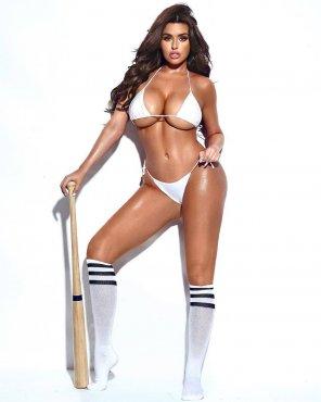amateur photo Baseball babe