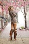 amateur photo Bomb ass boots
