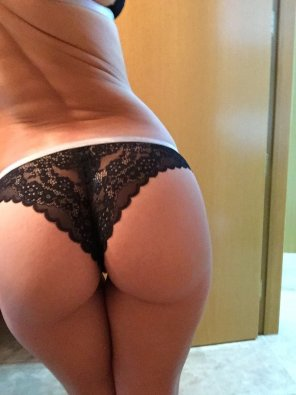 amateur photo black panty