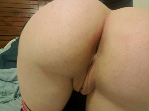 amateur photo My rear pussy 😘
