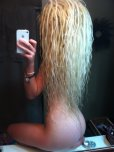 amateur photo Long blonde locks