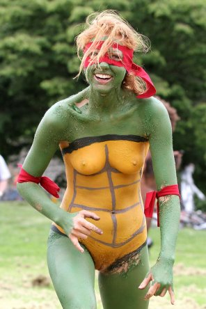 amateur photo Mutant Ninja Turtle