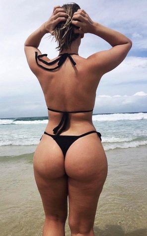amateur photo Ass at the beach