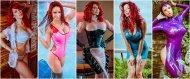 amateur photo Bianca collage