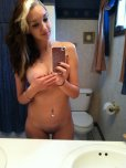 amateur photo Handbra selfie