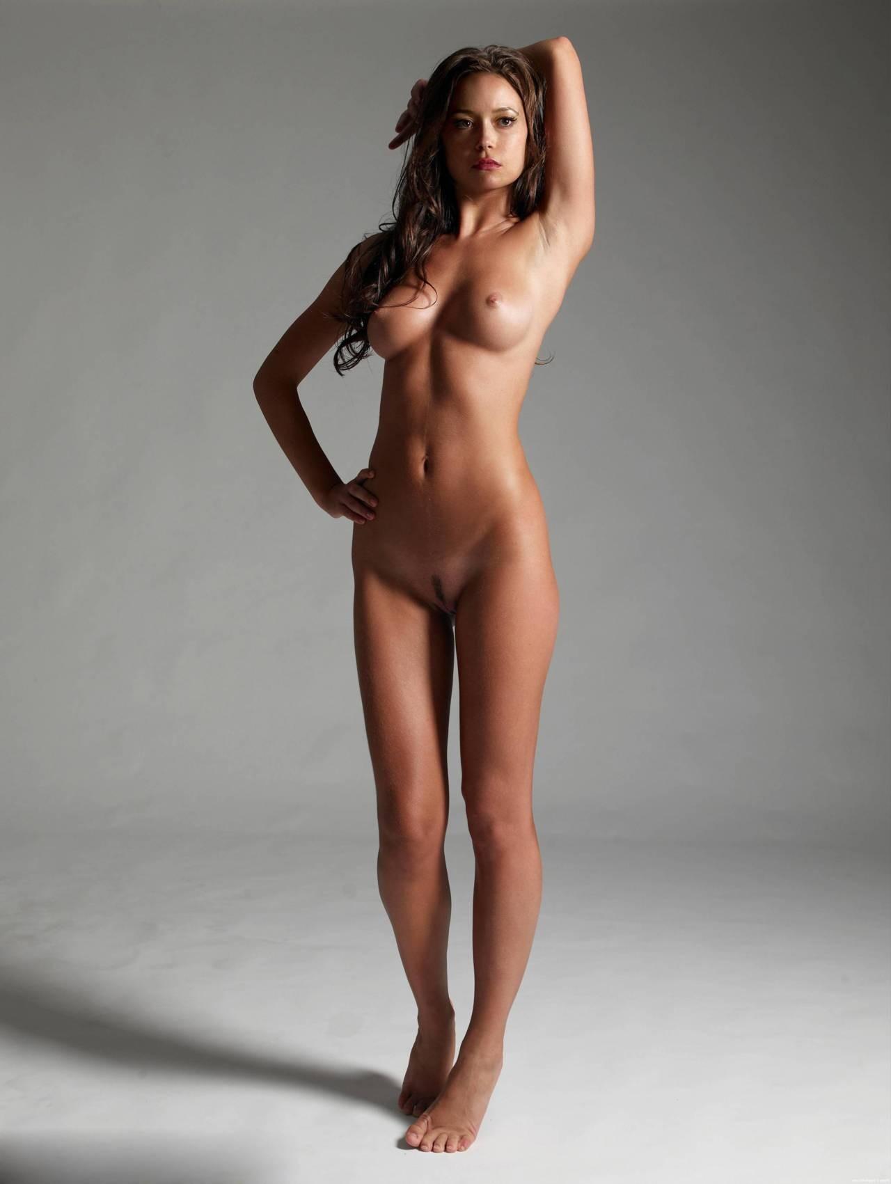 Naked erotic girl masterbating