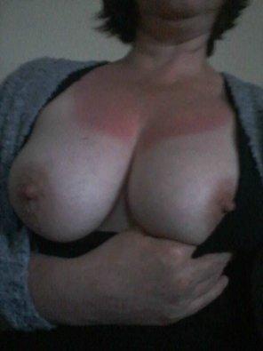 amateur photo [Image] 47yo milf tits needing cummed on