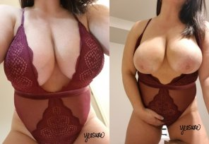 amateur photo [Image] I love wearing lingerie 😊