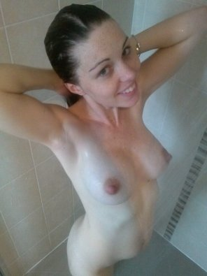 amateur photo Caught out showering - AIC