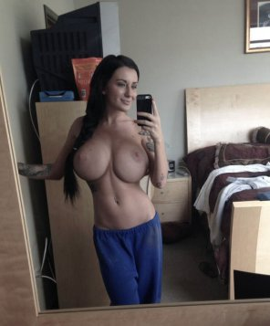 amateur photo A Busty Selfie