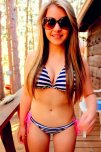 amateur photo Sunglasses And Bikini