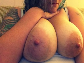 amateur photo Nice Areolas