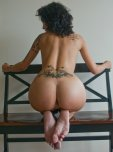 amateur photo Tattooed beauty