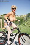 amateur photo Kelly Madison Out for a Ride
