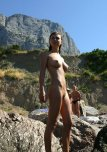 amateur photo Busty nudist