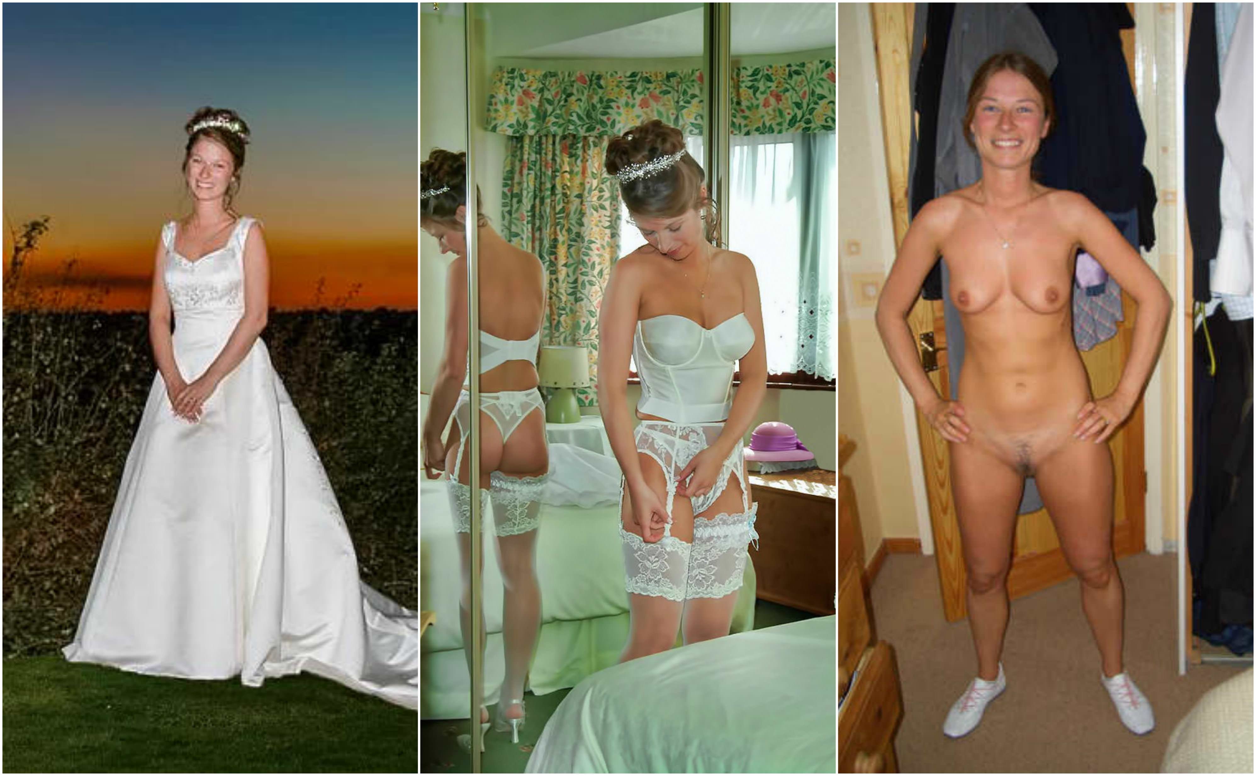 Wife Gets Naked