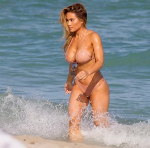 amateur photo Daphne Joy in Miami