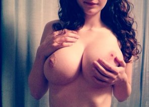 amateur photo Incredibly round naturals