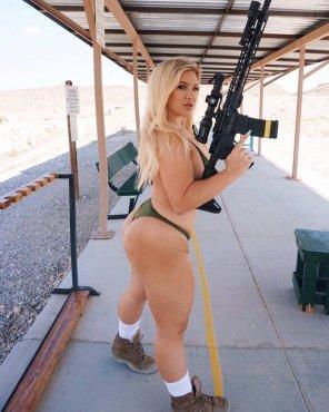 amateur photo At the range