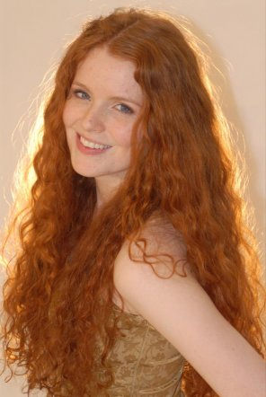 amateur photo My weakness is long curly red hair