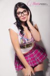amateur photo Pink and glasses