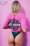 amateur photo Pink Harley