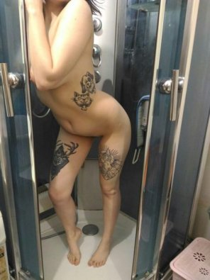 amateur photo You want to shower with me?
