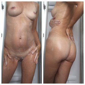 amateur photo How about soapy me?