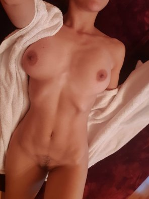 amateur photo Fresh from the shower!