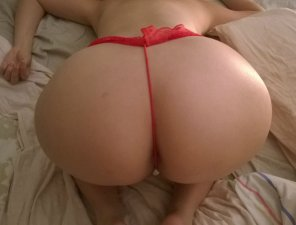 amateur photo Big Ass Tiny Thong