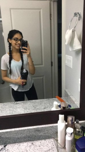amateur photo Braids to pull back on