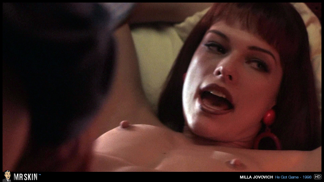 Jovovich milla porno
