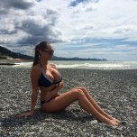 amateur photo Great body, terrible beach
