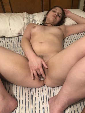 amateur photo I'm completely filled like a good dirty slut 23 [f]😘