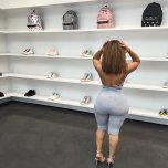 amateur photo Ciera Rogers shopping